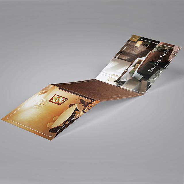 Буклеты для салона «Холл Декор»