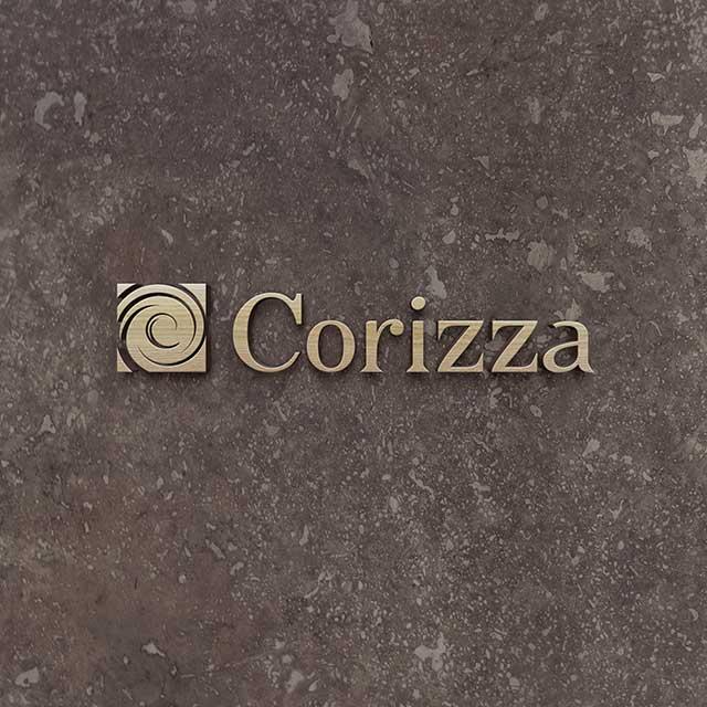 Логотип салона обоев «Corizza»