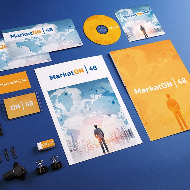Логотип мероприятия Markaton и фирменный стиль